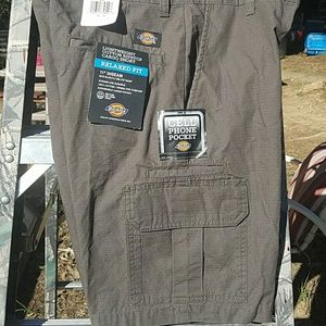 Dickies ripstop relaxed fit cargo shorts